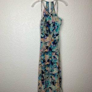 Parker dress XS watercolor tie dye look flaws